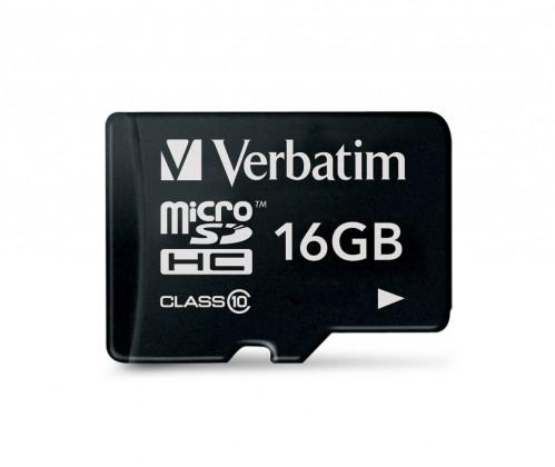 Verbatim micro SDHC 16GB (Class 10)