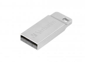 VERBATIM Store 'n' Go Metal Executive 32GB USB 2.0 strieborná