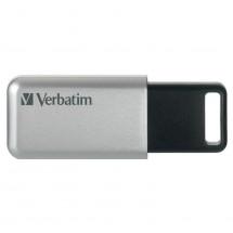 VERBATIM Store 'n' Go Secure Pro 16GB USB 3.0 strieborný