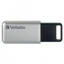 VERBATIM Store 'n' Go Secure Pro 64GB USB 3.0 strieborný