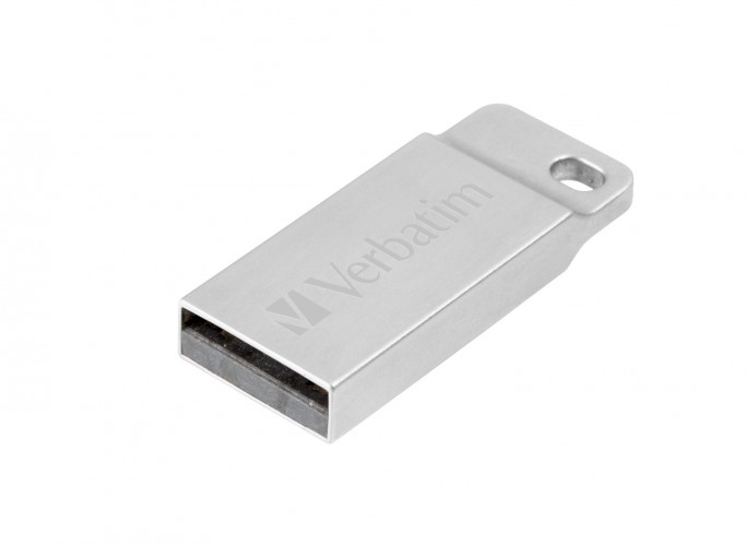 VERBATIM Store 'n' Go Metal Executive 64GB USB 2.0 strieborný