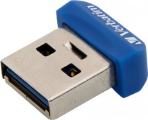 VERBATIM Store 'n' Stay NANO 16GB USB 3.0 modrý