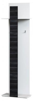 Vešiak Denver Typ 13 (biela artic/čierna strukturovaná)
