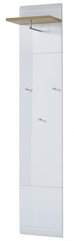 Vešiak GW-Neapel - Vešiakový panel (buk repro / biela)