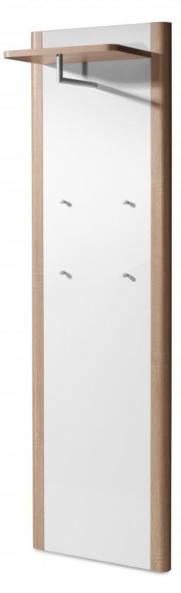 Vešiak GW-Ronda - Vešiakový panel (dub sonoma/biela)