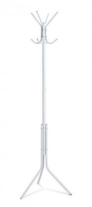 Vešiak Stojanový vešiak - SV 05, 170 cm (biela, kov)