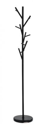 Vešiak Stojanový vešiak - SV 11, 170 cm (čierna, kov)