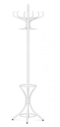 Vešiak Stojanový vešiak - SV 16, 186 cm (biela, drevo)