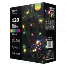 Vianočné osvetlenie Emos ZY0813T, farebná, 12 m