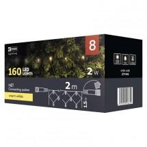 Vianočné osvetlenie Emos ZY1443, sieť, teplá biela, 2 m