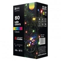 Vianočné osvetlenie Emos ZY1450, farebné, programy, 8 m