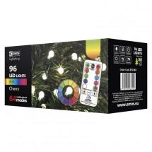 Vianočné osvetlenie Emos ZY2163, guľôčky, farebné, ovládač, 8 m