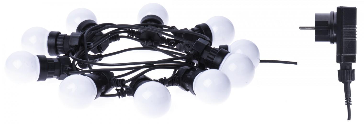 Vianočné osvetlenie LED dekoračná reťaz Emos ZY1939 50LED 10x párty, 5m