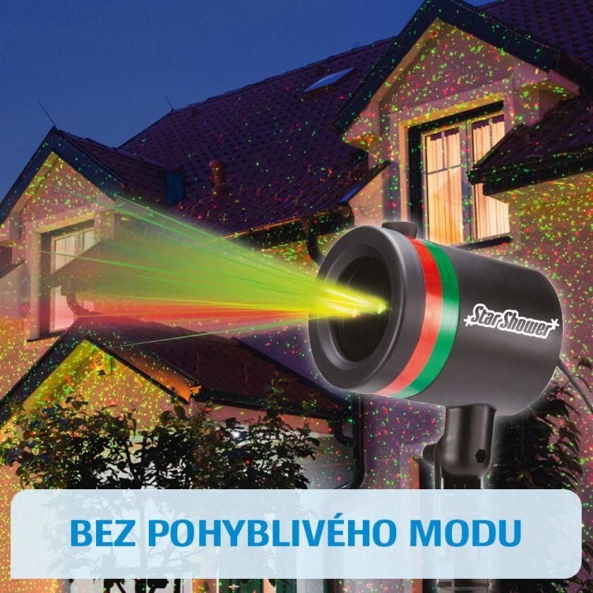 Vianočné osvetlenie Star Shower laserová lampa