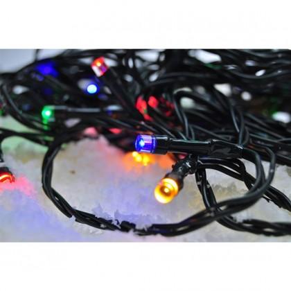 Vianočné osvetlenie Vonkajšia vánočná reťaz Solight 1V110M,LED,5m,prívod 3m,8fcí