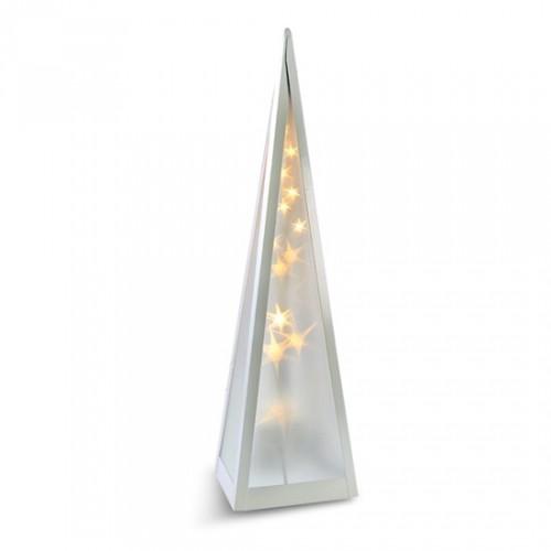 Vianočné pyramída Solight 1V44, LED, otáčací, 45cm
