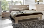 Vicenza - Komplet, posteľ 160 cm (dub)