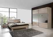 Vicenza - Komplet veľký 5, posteľ 160 cm (dub)
