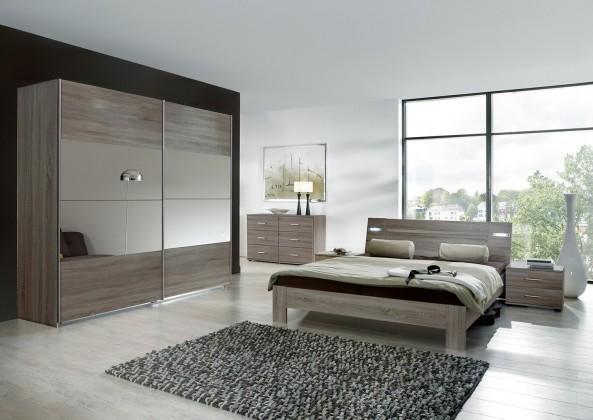 Vicenza - Komplet veľký, posteľ 180 cm (dub montana)