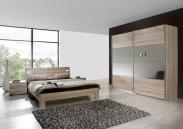 Vicenza - Komplet veľký, posteľ 180 cm (dub)