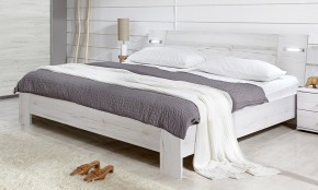 Vicenza - posteľ 140x200 cm (dub biely)
