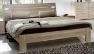 Vicenza - posteľ 180x200 cm (dub)