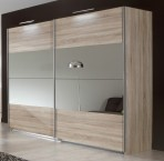 Vicenza - šatníková skriňa 2, 2x posuvné dvere