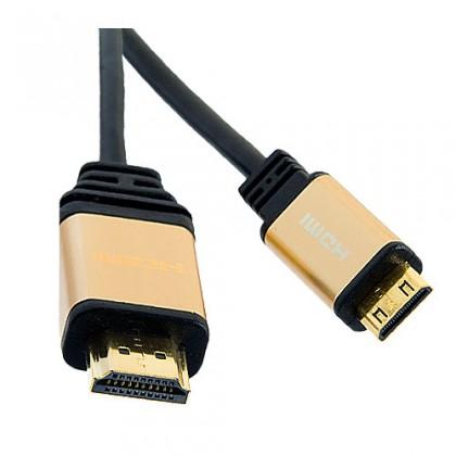 Video káble + konektory Defender Professional 07-06 PRO HDMI (M)- Mini HDMI (M) ROZBALENÉ