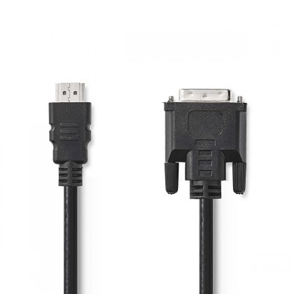 Video káble + konektory DVI / HDMI kábel Valueline 1,5m