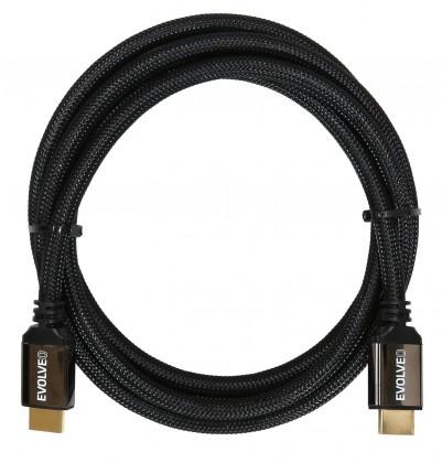 Video káble + konektory EVOLVEO XXtremeCord, kabel HDMI 2.1, délka 1 m