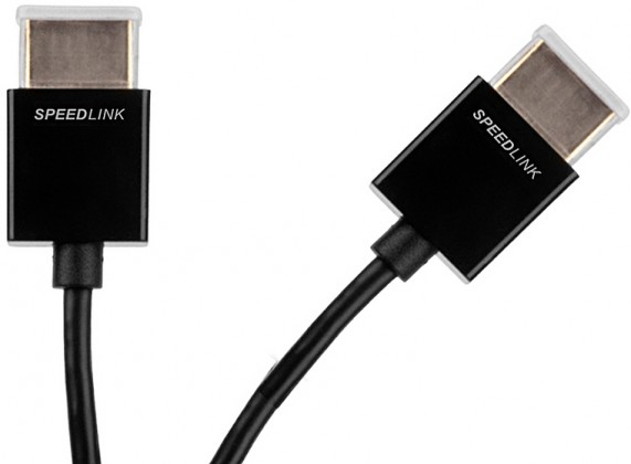 Video káble + konektory FLEX-CS High Speed HDMI Cable - for PS3, black