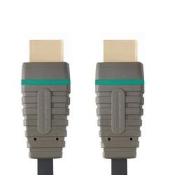 Video káble + konektory HDMI / HDMI TV kabel Bandridge 2m
