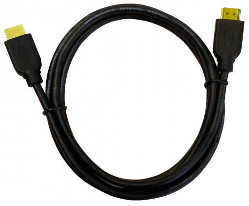 Video káble + konektory HDMI kábel, pozlátené konektory 1080p HDTV dĺžka 1,8m