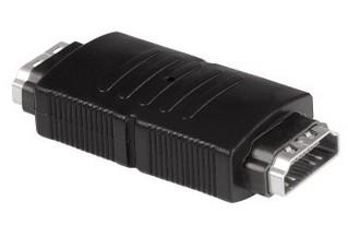Video káble + konektory HDMI spojka Hama 122230, zásuvka/zásuvka