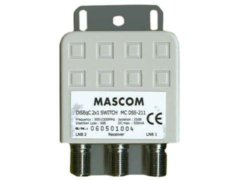 Video káble + konektory Mascom HDMI(A)-DVI(D) 8182-020