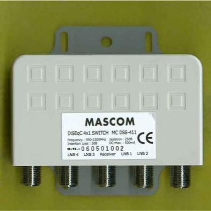 Video káble + konektory Mascom HDMI(A)-DVI(D) 8182-030