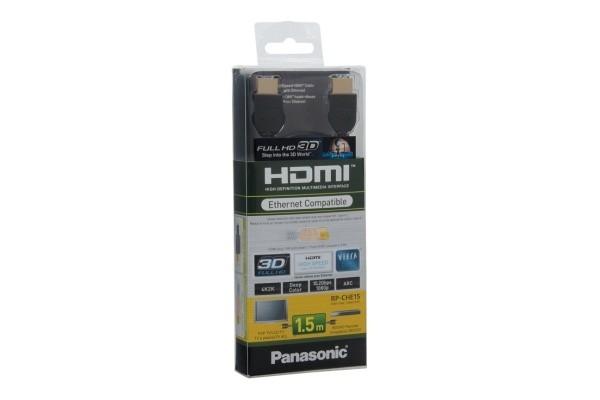 Video káble + konektory Panasonic HDMI kábel 1.5m RP-CHE15E-K