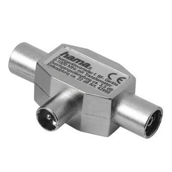 Video káble + konektory  Rozbočovač pro rádio, koaxiální vidlice - 2 koaxiální zásuvky