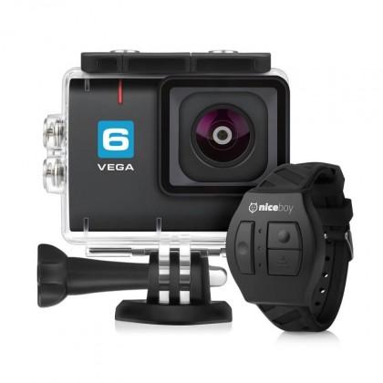 Videokamery Akčná kamera Niceboy Vega 6, 4K, 6ti osá stabilizácia + prísl.