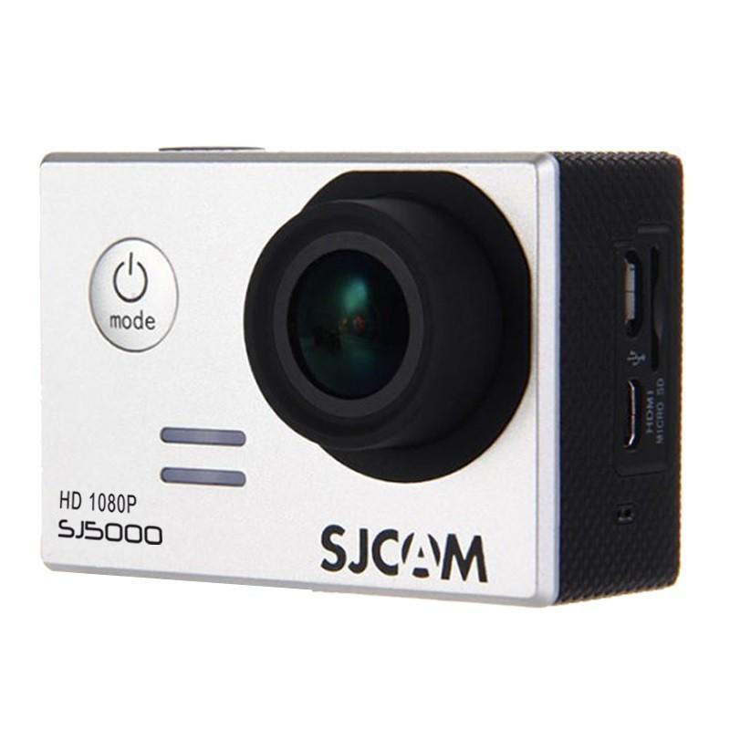 Videokamery Akčná kamera SJCAM SJ5000 + kopa príslušenstva, biela