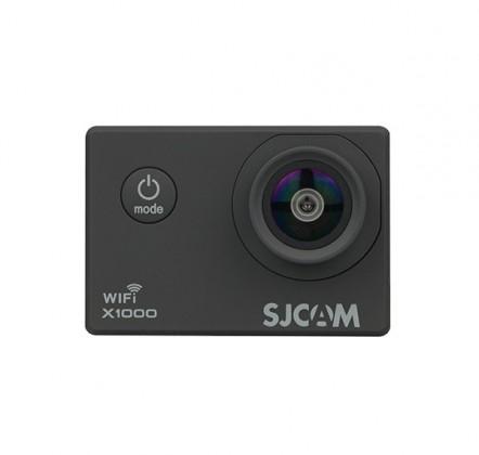 Videokamery Akčná kamera SJCAM X1000 + kopa príslušenstva, čierna