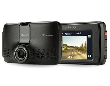 Videokamery Autokamera Mio MiVue 733 Wifi, FULL HD, záber 130°, GPS