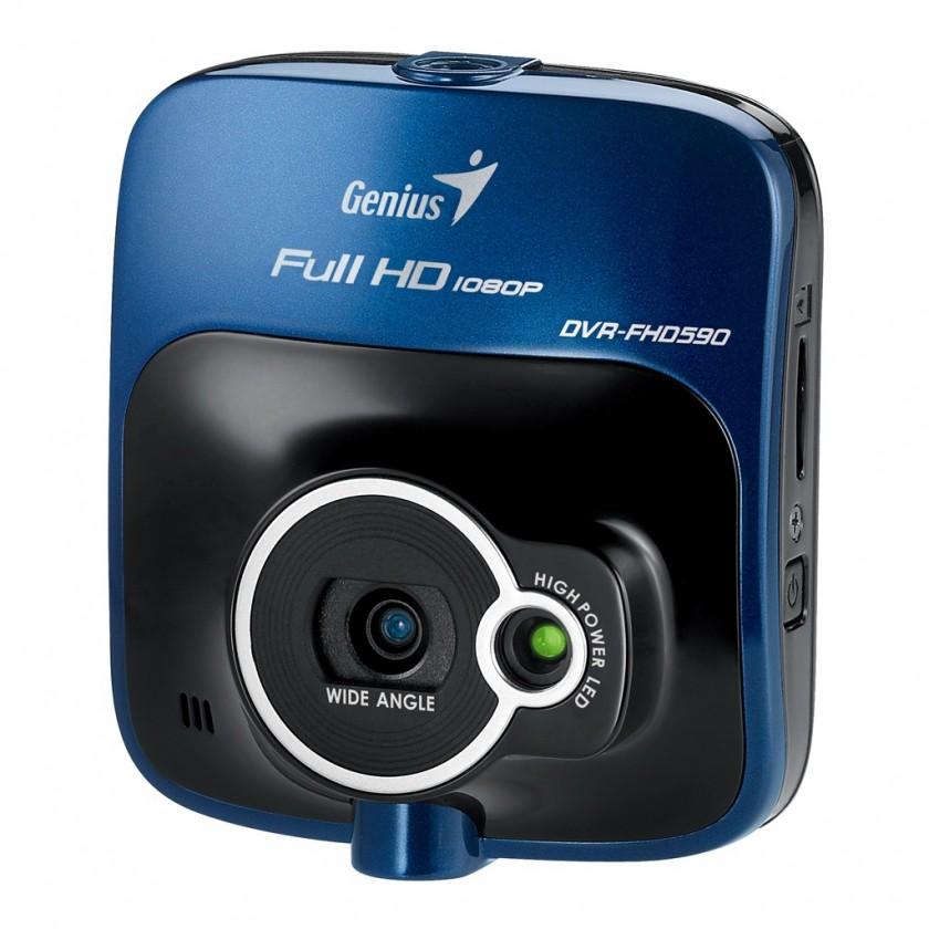 Videokamery Genius digitální kamera do auta DVR-FHD590/ Full HD, 2.4# LCD,