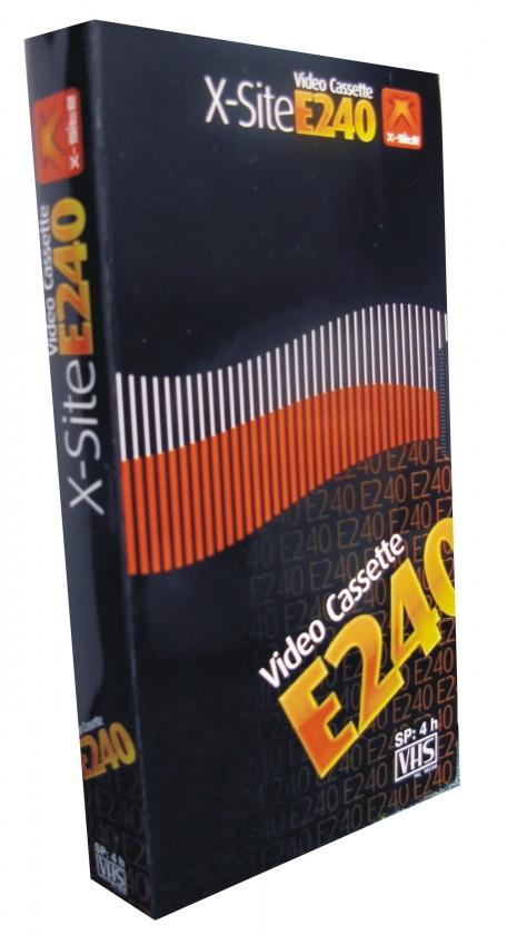 Videokazety  X-SITE videokazeta XC-Q 240/ 240 min