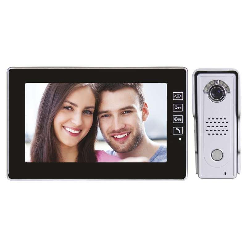 Videotelefóny Domáci videotelefón EMOS s pamäťou,farebná sada,H1018
