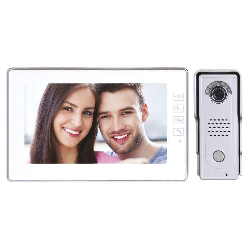 Videotelefóny Domáci videotelefón EMOS s pamäťou,farebná sada,H1019