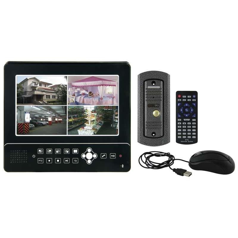 Videotelefóny Emos Sada CCTV videotelefónu,čierna