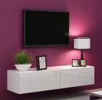 Vigo - TV komoda 140 (biela mat/biela VL)