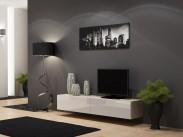 Vigo - TV komoda 180 (dub sonoma/biela lesk)