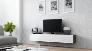 Vigo - TV komoda 180 (latte/biela lesk)